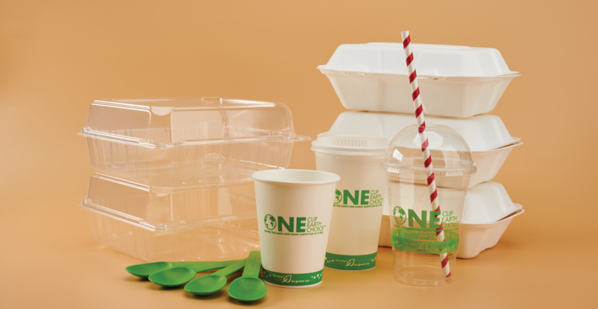 eco-friendly take out packaging